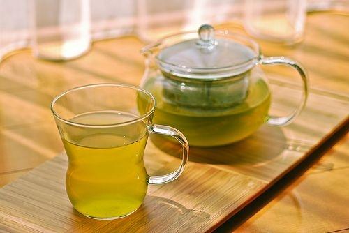 Litri e litri di tè verde