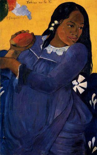 Paul Gauguin (1848-1903), Femme à la Mangue