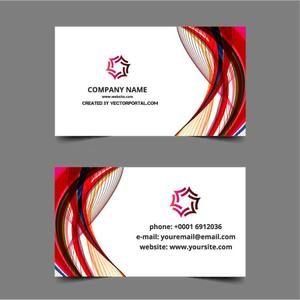 36 best business card template vector public domain images on abstract graphic layout for business card template reheart Image collections