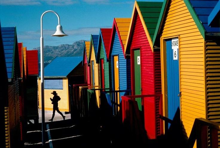 cape town beach bath houses.