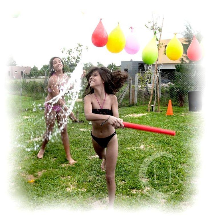 Juegos con Agua!