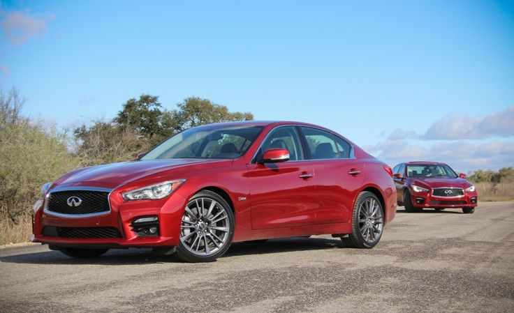2016 Infiniti Q50S Red Sport 400s Pictures Photo Gallery