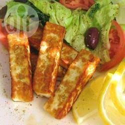 Photo recette : Bâtonnets de fromage Halloumi