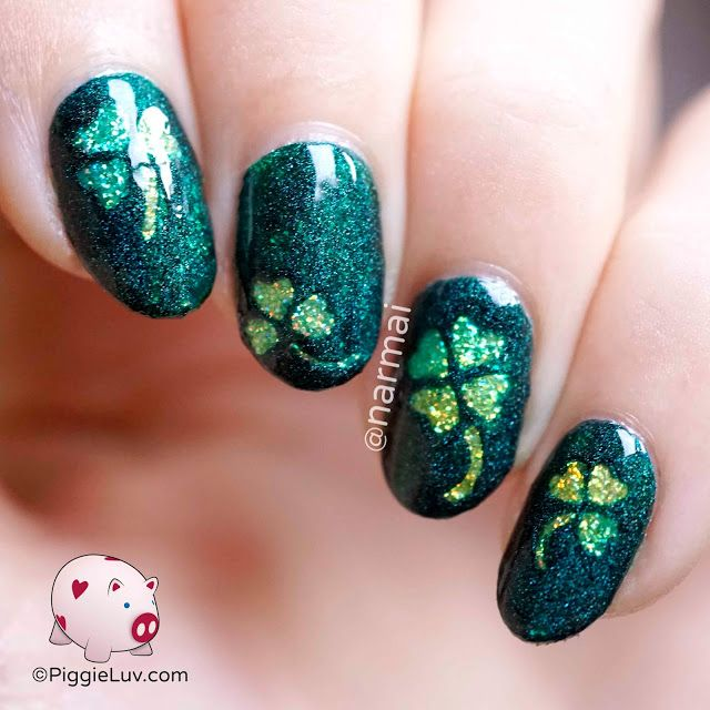 Aye lassies, it's time to brin' ye some Irish nail art! It's St. Paddy's Day on Thursday so right, let's get to it!