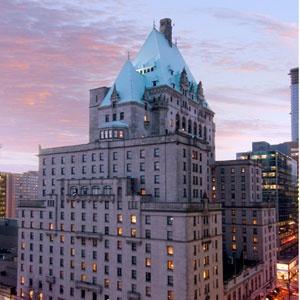 The Fairmont hotel, Vancover,Canada