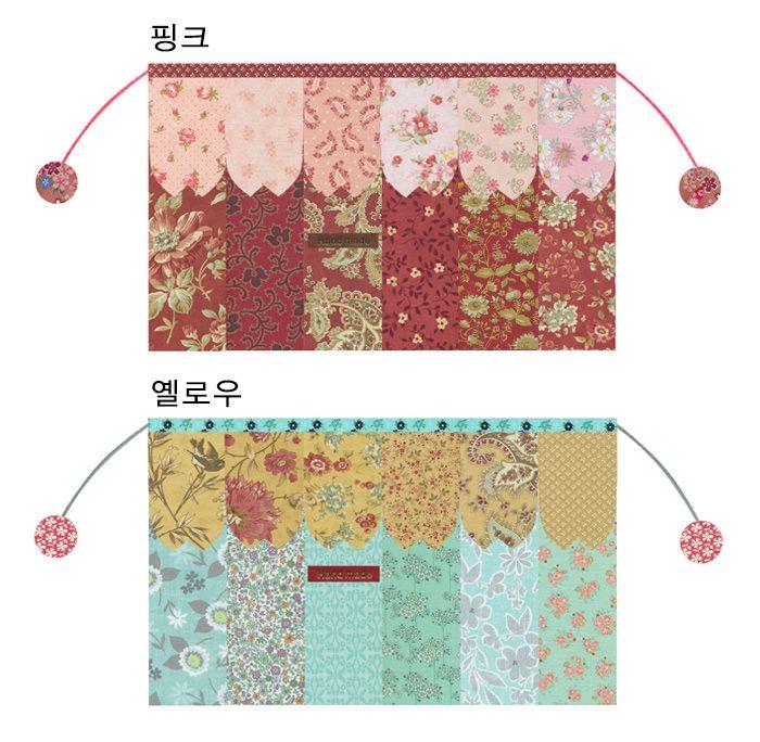 [벚꽃 퀼트파우치3 (4차)]