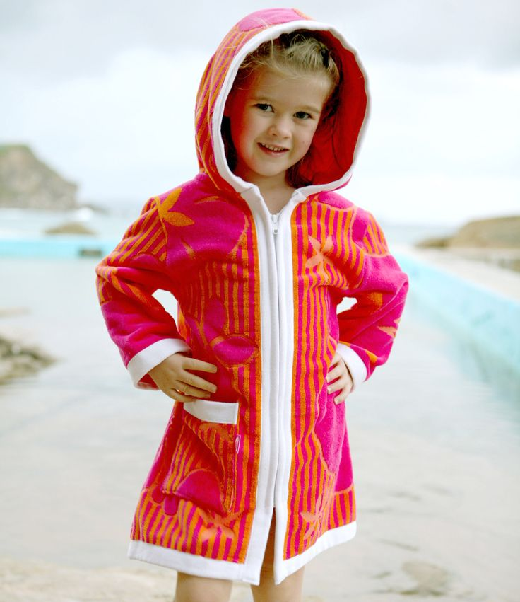 Terry Rich Australia Kids Beach Robe - Luxe Island  They dry, warm up and protect against the sun!