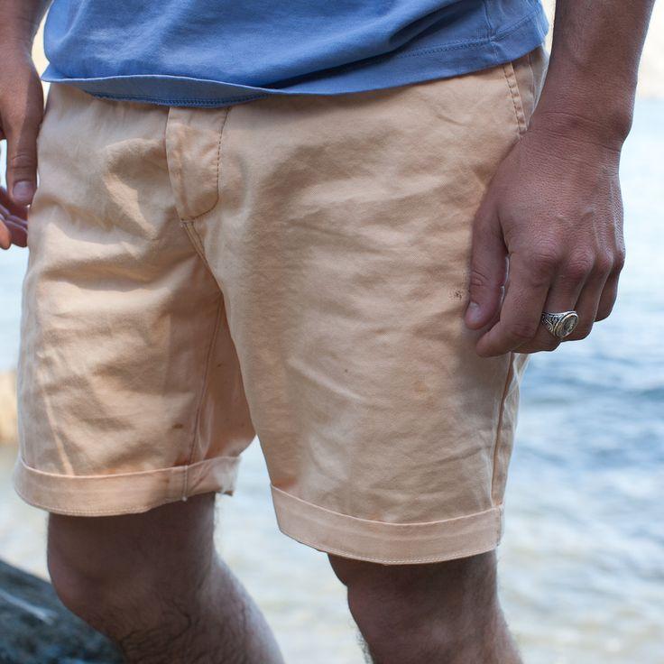Mens Peach Shorts
