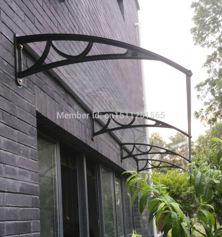 French Door Awning Images | Polycarbonate Awning Door Canopy DIY Awning  Vordach Entry Canopy Shop .