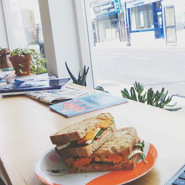 Posted on Urber FIKA LONDON #Bow is officially hot, @Fika_London opened on Roman Road and it's  great news. #SwedishFood #Scandi