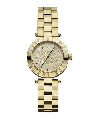Westminster gold-tone steel watch Sale - Vivienne Westwood Sale