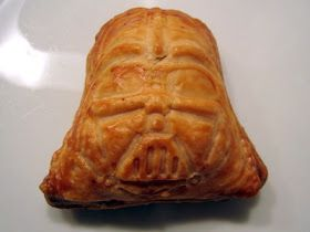 A mama with ideas...: Yet more Star Wars food... Darth Vader Sausage Rolls!
