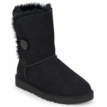 To keep your feet warm despite the winter cold, these @uggaustralia  #boots are the best bet. In #wool and folded #sheepskin, wear a polar look with jeans or leggings! #shoes #midboots #winterboots #womens #fashion #ugg #uk #baileybutton