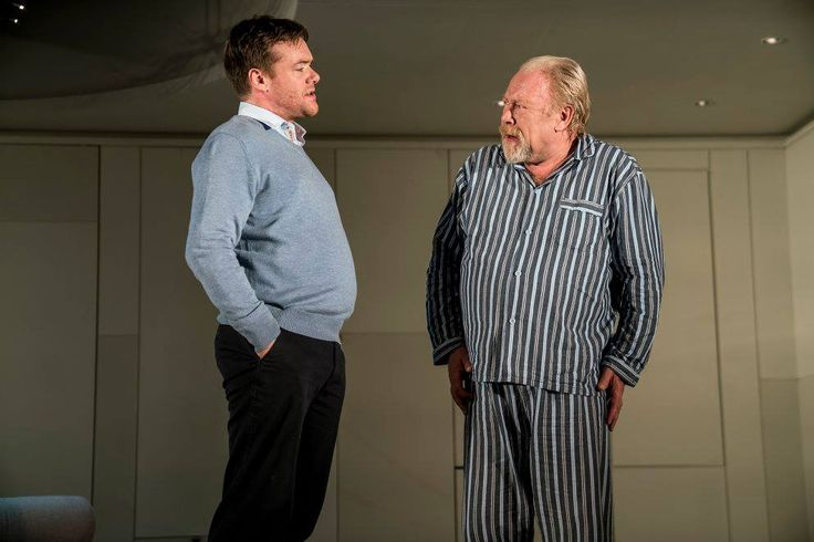 Peter Gaynor and Owen Roe in The Father by Florian Zeller in a translation by Christopher Hampton.  Picture by Pat Redmond (2)