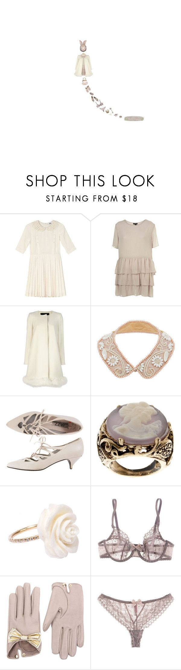 blinded, it's so stunning. by littlewounds on Polyvore featuring To Be Adored, Tara Jarmon, Passionata, American Apparel, ASOS, MONTSE ESTEVE, Causse, Chloé and Miu Miu