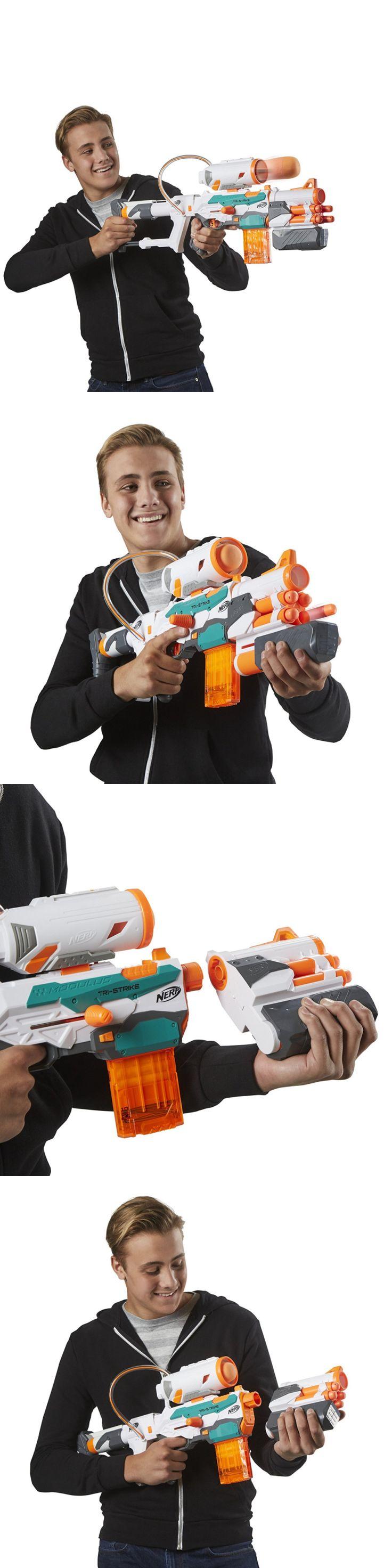 Toy box metal decor wall art shop play children store a180 ebay - Dart Guns And Soft Darts 158749 Nerf N Strike Modulus Tri Strike Blaster