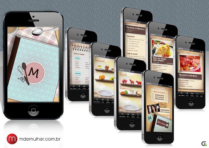 Pages - App - M de Mulher