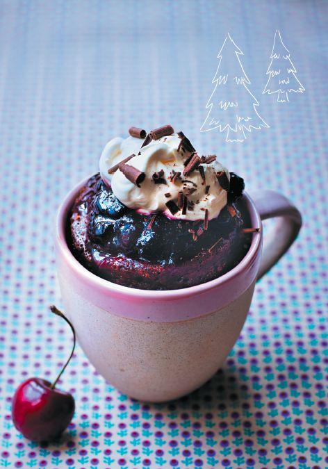 Это просто волшебный десерт. Возьмите на заметку к новогоднему столу. Иллюстрация из книги