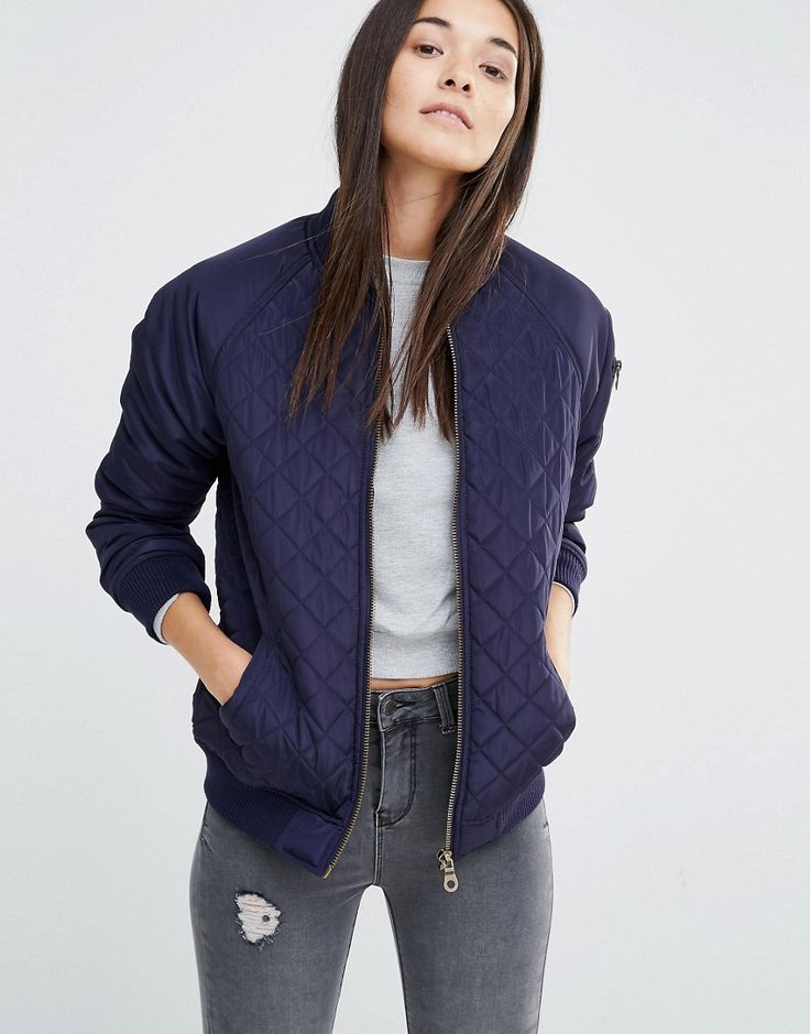 New+Look+Quilted+Bomber+Jacket
