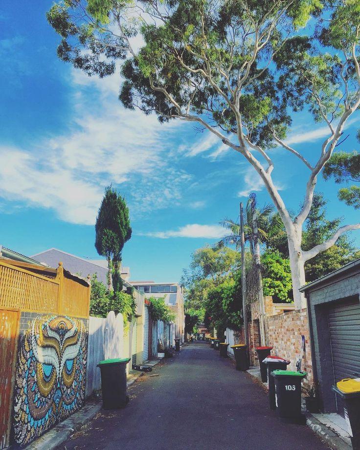 Australia Lane Newtown ... #Newtown #portrait #bluesky #innerwest #innerwestisbest #innerwestsydney #laneway #laneways #camperdown #glebe #enmore #stanmore #erskineville #streetart #gumtree #picoftheday #photooftheday #follow #followme #like #instacool #instagood #instadaily #instagram by innerwest4lyf