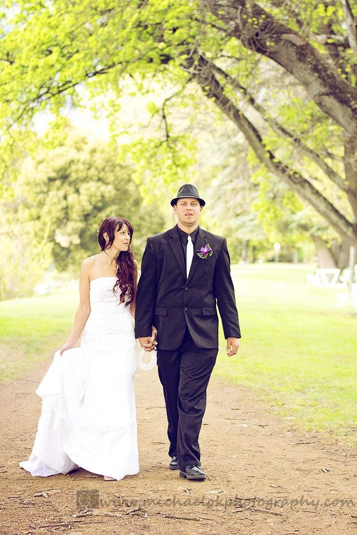 Mel and Nick's wedding