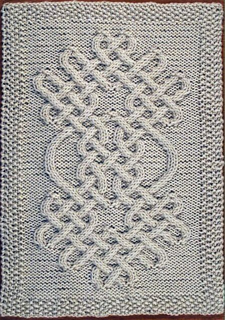 Celtic Knot Knitting Chart : Celtic motif knot pattern by devorgilla s knitting
