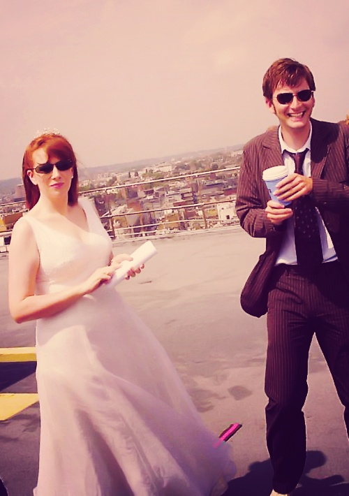 Catherine Tate and David Tennant. I loved their chemistry. I never got tired of watching them together.