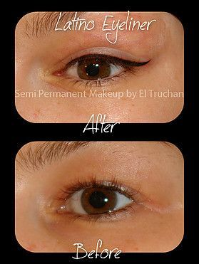 Latino Eyeliner Semi Permanent Makeup – #eyeliner #Latino #Makeup #Permanent #Se…