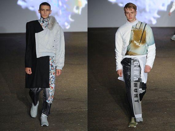 Georgina Hunt's work, read the interview here: http://www.fashion156.com/daily-blog/f156-graduate-showcase-week-georgina-hunt/  #fashion #graduate #showcase #week #menswear #catwalk #designer #textiles