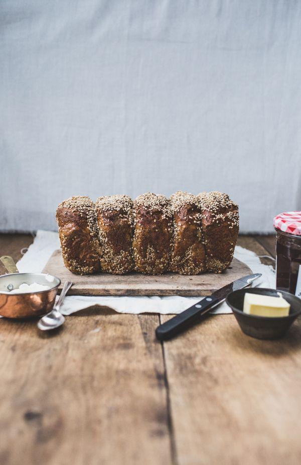 Bagel Bread Loaf Recipe