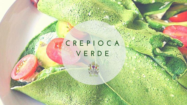 Crepioca de espinafres com queijo creme, abacate e tomate | A Pitada do pai | Bloglovin'