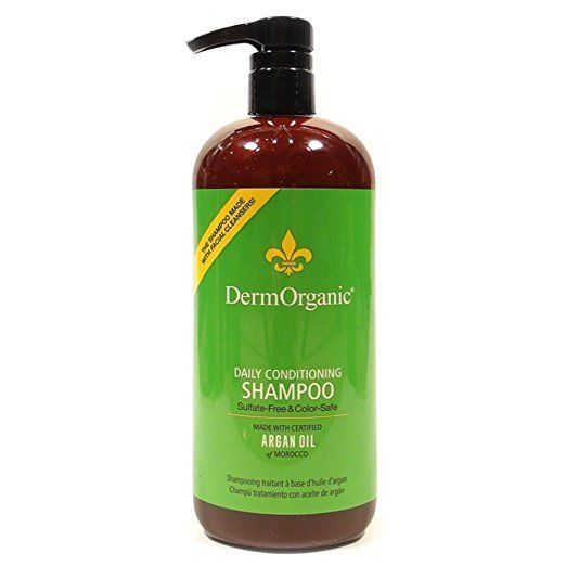 DERMORGANIC Daily Conditioning Shampoo 70% Organic 33.8 oz / 1 L