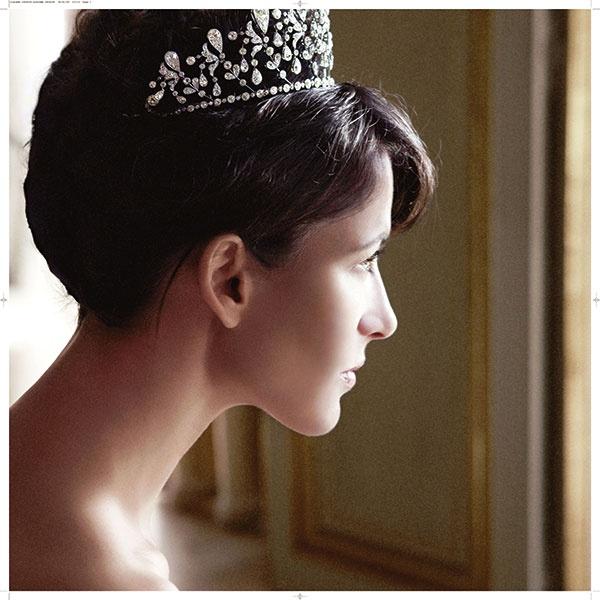 Sophie Marceau wearing Chaumet Bourbon Parme tiara