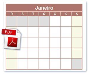 Calendário PDF