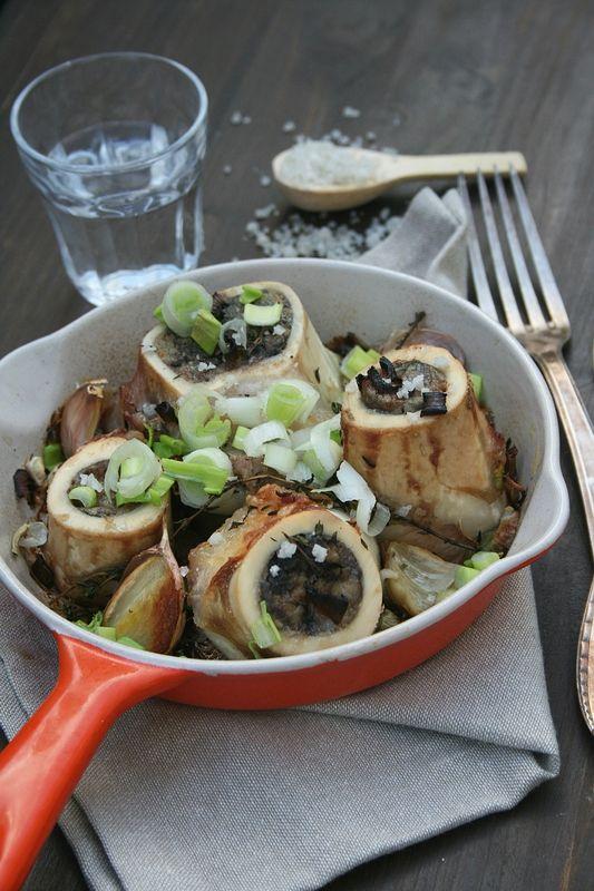 Os à moelle au four - Passion culinaire