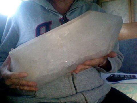 Quartz Ology 45 lbs Crystal ...