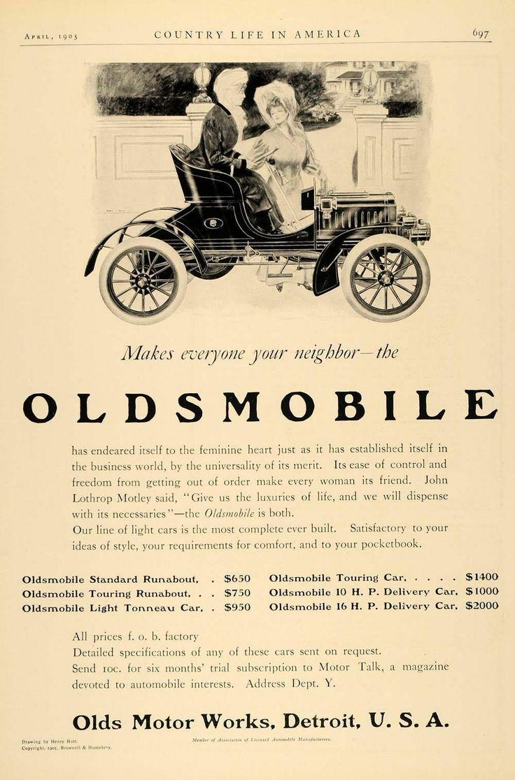 134 best Oldsmobile Archeology images on Pinterest | Vintage cars ...