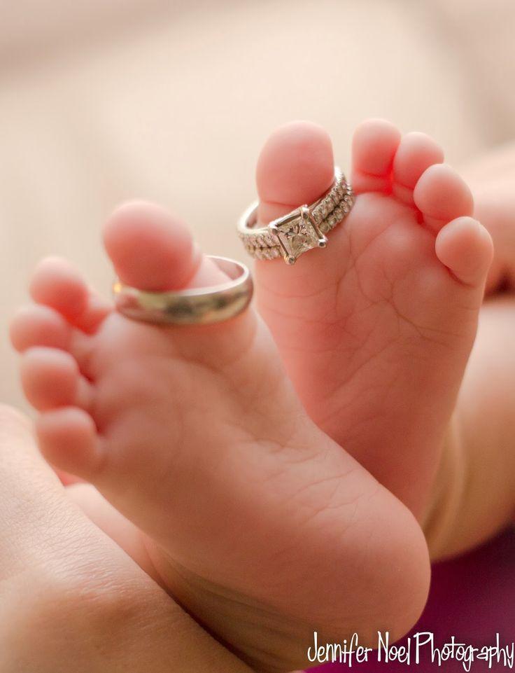 Jennifer Noel Burns Fotografie: Baby Zehen