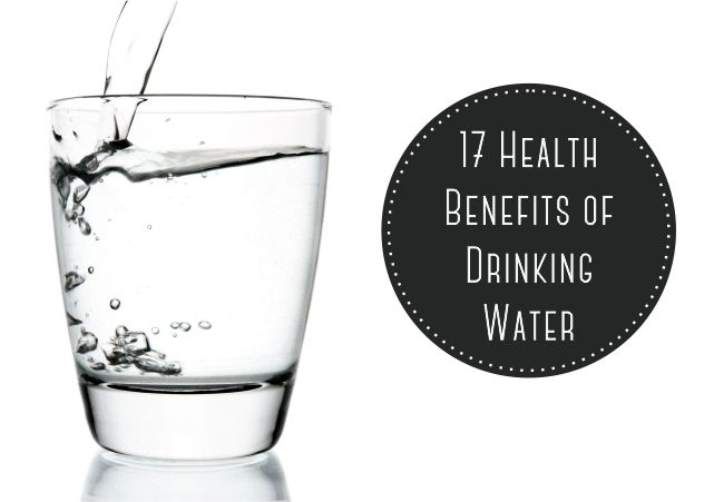 17 Health Benefits of Drinking Water