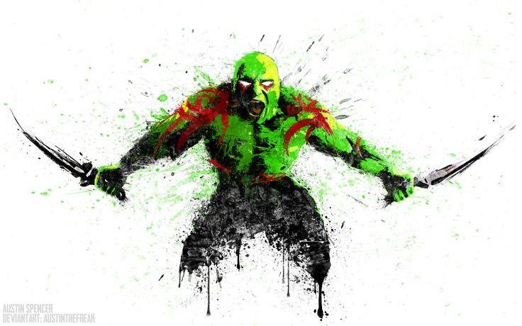 Drax the Destroyer by austinthefreak