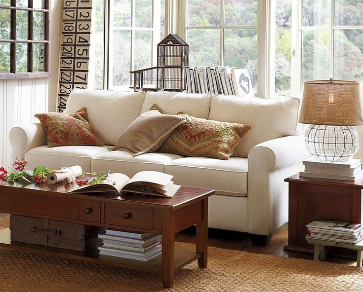 ideas inspirations pottery barn small space living room design