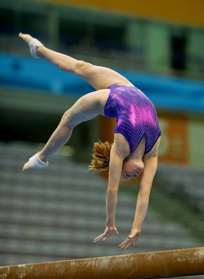 Camille Bahl--2014 Youth Olympics Podium Training