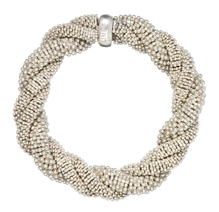 Links of London statement bracelet - My absolute favourite. Teams up with everything! #McArthurGlenStyle