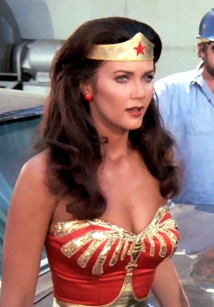Lynda carter wonder woman sexy