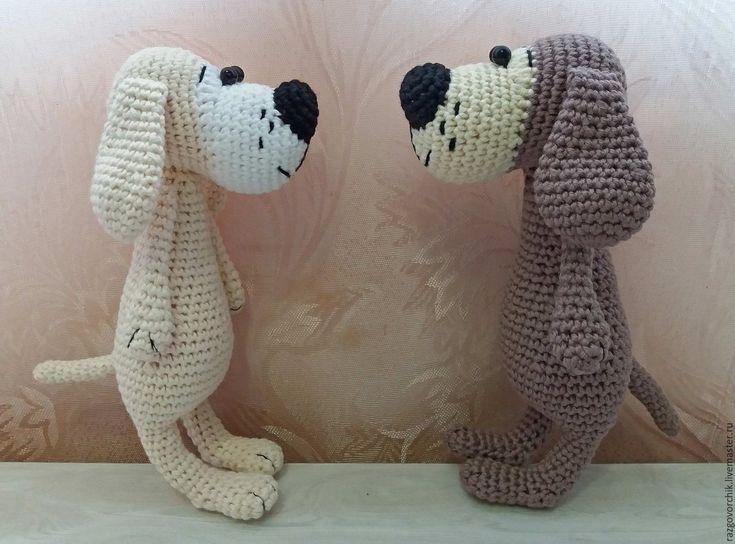 Купить Весёлые собачки - комбинированный, собака, собаки, собачка, собачка игрушка, собачка в подарок, собачки