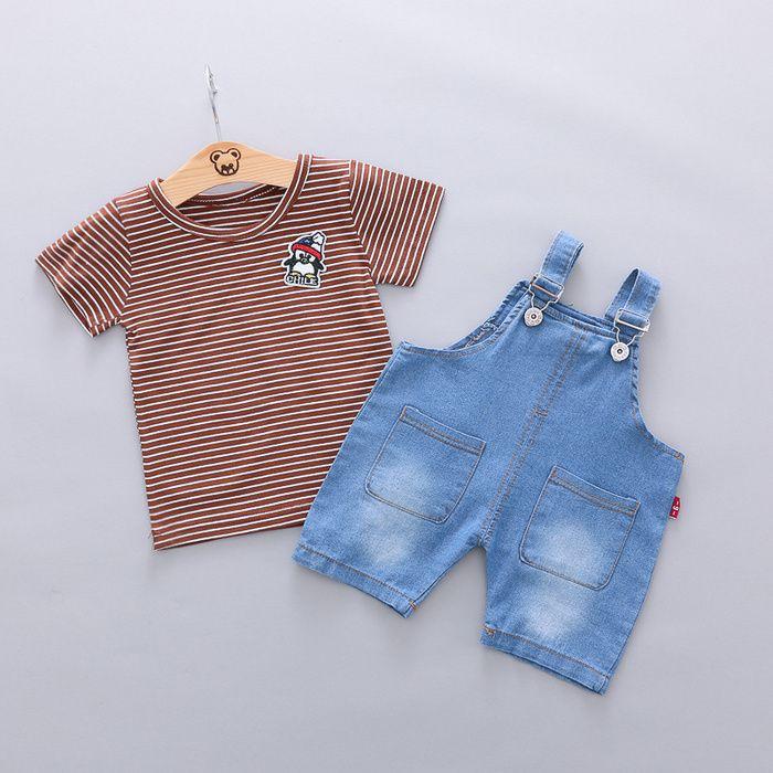 Children S Wear Boys Belt Trousers Suit Westernized Spring Dress 0 1 2 3 Years Old Boys And Girls Summer T Shirts 4 In 2020 Boys Belt Kids Wear Summer Girls