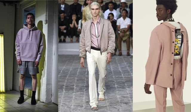 fashion week men SS 18 - De gauche à droite : Tim Coppens, Berluti, AMBUSH