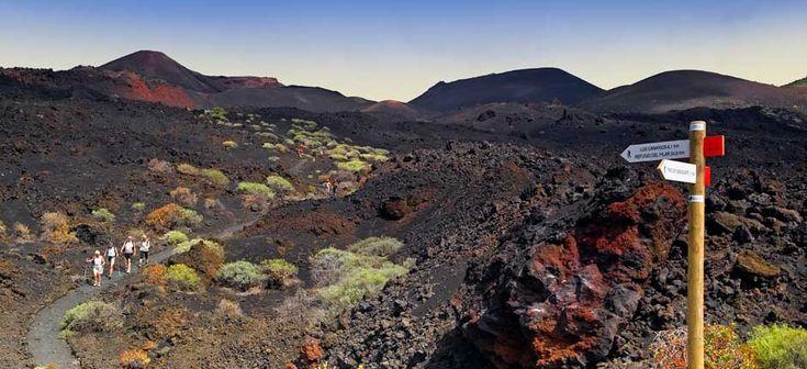 Monument Naturel des Volcans de Teneguia à La Palma