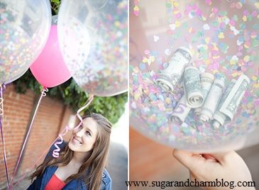 Last Minute Birthday Gift - Money Balloon