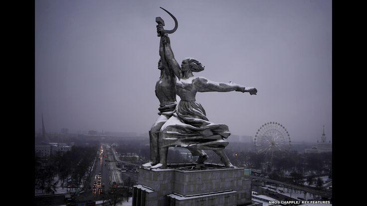 Do alto, drone fotografa arquitetura inspiradora de Moscou - BBC Brasil